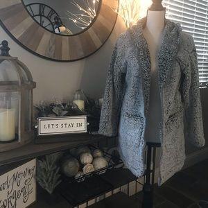 Jackets & Blazers - Teddy Jacket with Hood